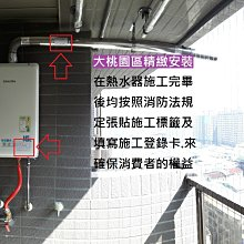 【大桃園區精緻安裝】莊頭北TH-7168FE/TH7168 (16公升數位恆溫強制排氣型熱水器)【附發票】
