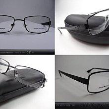 信義計劃眼鏡 EMPORIO ARMANI EA 9679 亞曼尼 義大利製 黑色金屬框 方框 可配全視線或高度數小框