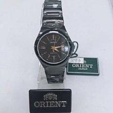 可議價 ORIENT東方錶 女 簡約時尚黑面 石英腕錶 (HE7BX82) 28mm