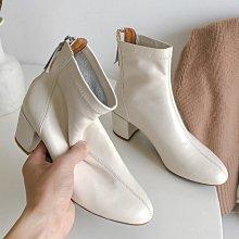 DANDT 時尚高跟真皮軟面後拉鍊短靴(DEC 10 B1171)同風格請在賣場搜尋 REG 或 歐美女鞋