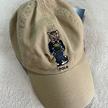 Polo bear  Ralph Lauren by Polo 卡其色polo tiger刺繡 polo老虎圖案棒球帽 美國官網購入 全新正品 現貨在台