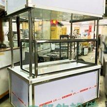 全新 5尺1玻璃展示櫥車台  / 客製化平面車台 / 304純白鐵