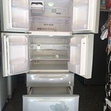 頂尖電器行「二手」三洋 515公升 六門變頻冰箱