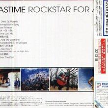 K - PASTIME - ROCKSTAR FOR A DAY - 日版 CD+OBI