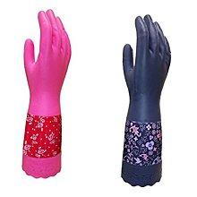 ☆499免運☆日本製造 北歐風 家事手套 指尖強化型 裏起毛 家事 清潔手套 高耐油 耐清洗劑 優美躍動 貴婦 家事 洗碗 手套