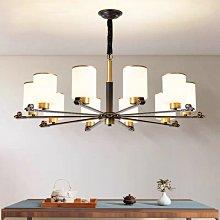 吊燈新中式吊燈客廳燈全銅新款現代簡約臥室餐廳燈大氣中國風燈具