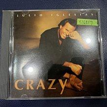 *還有唱片行*JULIO IGLESLAS / CRAZY 二手 Y16517 (149起拍)