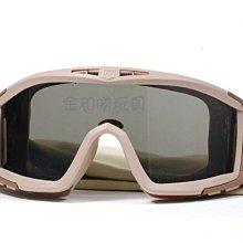 台中.彰化((金和勝玩具))特價版 ESS風格 沙漠蝗蟲 護目鏡 全套只要390元 8751