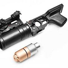 [01] BELL AK 榴彈 發射器 ( 生存遊戲火箭筒榴彈砲散彈槍子母彈達姆彈武器子彈飾品擺飾沒朋友