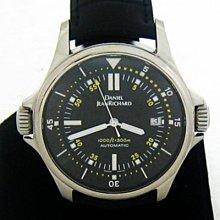 順利當舖 DANIEL JEANRICHARD/尚維沙 稀有大錶徑計時自動雙把頭運動型男錶