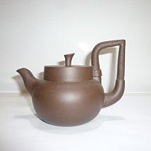 茶壺.紫砂壺.朱泥壺.手拉坯壺/早期紫砂得心應手壺