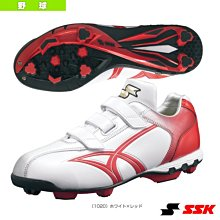 新莊新太陽 SSK STAR RUNNER SSF4000-1020 棒壘球鞋 日本進口 自黏式 膠釘 白紅 特1990