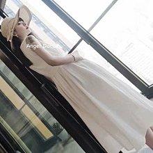 *Angel  Dance*無袖蕾絲洋裝(白色)@韓國 小禮服 氣質 甜美 綁帶 收腰 顯瘦 正式@c02現貨+預購
