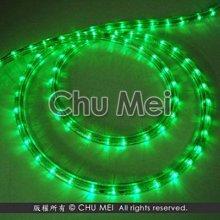 220V-綠光LED三線非霓虹燈50米 - led 燈條 彩虹管 圓三線 非霓虹 水管燈 聖誕燈 管燈 條燈 裝飾燈