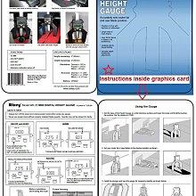 台灣公司現貨 美國 Wixey WR25 電子式高度儀、數位高度檢測儀、長度儀、高度規 木工 路達機 桌鋸機