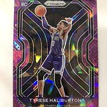 2020-21 Panini Prizm #290 Tyrese Haliburton rc 紫冰鑽卡 限量175張