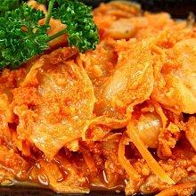 【免煮小菜】韓式明太子風味泡菜/約500g~爽脆酸甜的泡菜酸辣帶勁~搭配明太子魚卵咬在嘴裡嗶嗶啵啵刺激您的味蕾超夠味