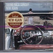 799免運CD~TAKING BACK SUNDAY龐客星期天【NEW AGAIN嶄新起點】美國樂團英語專輯歐洲版免競標