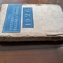 古書珍藏品The International Sugar Journal 1926 英文版