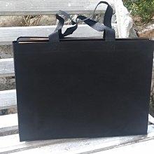 現貨新款黑大 不織布袋 每個9元滿1000免運 精美紙袋 購物袋 服飾袋 手提袋45*12*35cm每包50個450元