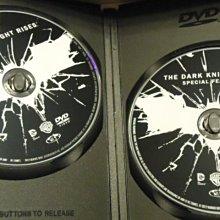 Batman: Dark Knight Rises 蝙蝠俠三部曲之黎明升起 克里斯多夫諾蘭 克里斯汀貝爾 安海瑟薇 雙碟