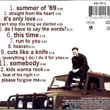 布萊恩亞當斯Bryan Adams / So Far So Good