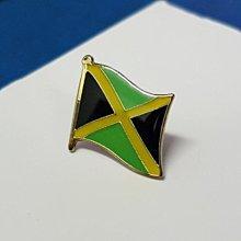 【衝浪小胖】牙買加國旗徽章/胸章/別針/胸針/Switzerland/超過50國圖案可選