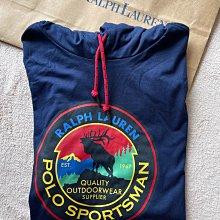 Polo Ralph Lauren by Polo polo sports 深藍薄棉帽t  美版M 尺寸 70-80公斤可穿 全新正品 現貨在台