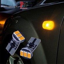 【PA LED】T10 3晶 三星 5630 SMD LED 黃光 橘光 側燈 側方向燈 方向燈 小燈 定位燈