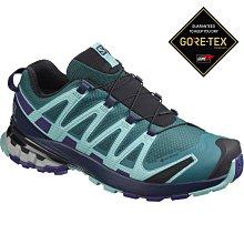 =CodE= SALOMON XA PRO 3D V8 GTX 防水野跑鞋(綠紫黑)409903 索羅門 慢跑 健行 女