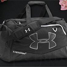 美國真品 UA Under Armour 安德瑪 男女適用黑色防水出國 運動包 斜背包 肩背包 手提包 愛COACH包包
