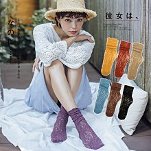 台灣出貨!花朵紋彈力 波浪鏤空堆堆襪 蕾絲刺繡 木耳邊襪 短襪 麻花堆堆襪 白色蕾絲襪公主襪 短絲襪 |大J襪庫G-66
