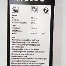 愛淨小舖-【A106S】 BOSCH Jaguar專用前擋雨刷 XE XF XF Sportbrake專用雨刷