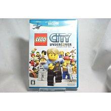 [耀西]二手 純日版 任天堂 Wii U WiiU 樂高小城:臥底密探 含稅附發票