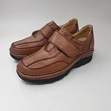 男:手工縫製氣墊休閒鞋(黑/咖)、真皮氣墊鞋、牛皮鞋、上班族必備、紳士鞋、寬楦、耐磨、實穿、耐走