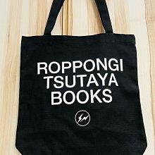 Fragment design ROPPONGI TSUTAYA BOOKS 黒 六本木 蔦屋書店 Open記念限定現貨 全新