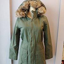 (雅峰精品) GAP女款卡其軍裝保暖外套