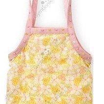 (((最後出清!!))) 二手 ~ GYMBOREE 黃色花卉 亮片 純棉 手提袋背袋