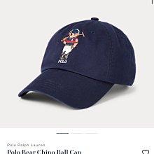 Polo bear  Ralph Lauren by Polo 深藍色刺繡polo熊棒球帽 皮革帶 美國官網購入 全新正品 現貨在台