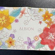 「台北美妝舖子」ALBION艾倫比亞 限量京都花語化妝棉