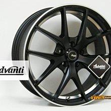 【小茵輪胎舘】Advanti 雅泛迪 MAT-17 旋壓輕量化17吋 5孔車系適用 7.5J (贈送升級配件)