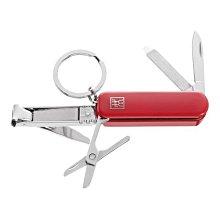 雙人牌 Zwilling 紅色 隨身工具刀 瑞士刀 指甲刀 指甲剪#42450-100