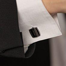 Montegrappa 萬特佳 Quadro Cufflinks 方型 鐵灰色袖扣 IDQUCLLB