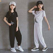 小圖藤童裝~~~中大童~~~2021新款女童套装潮童舒適套裝中大童休閒簡約童装(A2624)