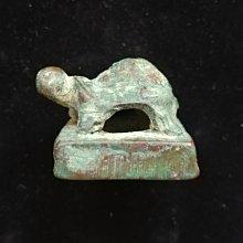 小青銅龜紐印