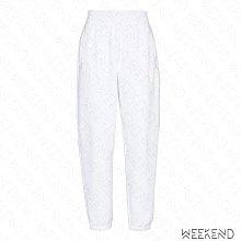 【WEEKEND】 ALEXANDER WANG Track 寬鬆 休閒 長褲 白色