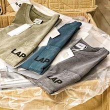 【希望商店】LAPRIMA LAP WASHED LS TEE 20AW 蠟染 水洗 口袋 長袖T恤 「港、澳、台限定」