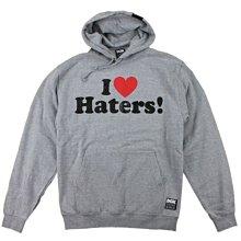 SKATEBOARDING 滑板店 DGK 棉質連帽外套 I LOVE HATERS