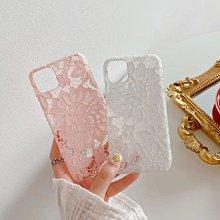 ☆韓元素╭☆Mobile-Style 蕾絲造型 iPhone 11 保護套 6.1吋 硬式蕾絲殼 硬殼 蕾絲
