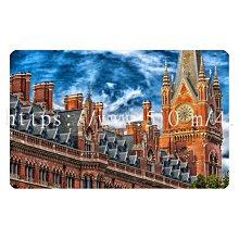 〈亮晶細沙 卡貼 貼紙〉英國 倫敦 時鐘塔  貼紙 悠遊卡貼紙